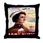 Be An ARMY Nurse Throw Pillow