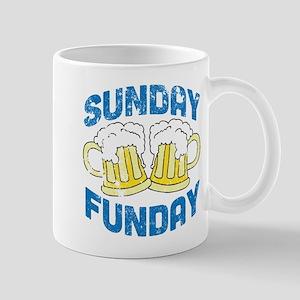 Sunday Funday Vintage Mug