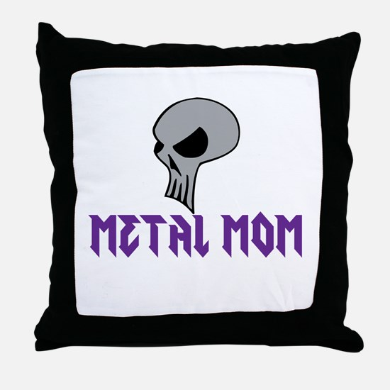 Metal MomThrow Pillow