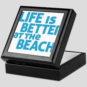 Life Is Better At The Beach Keepsake Box