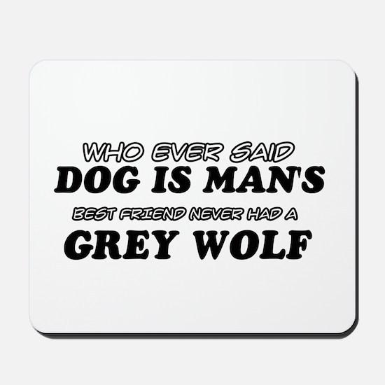 Grey Wolf Designs Mousepad