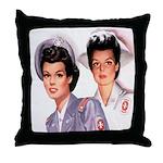 Cadet Nurse Throw Pillow