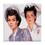 Cadet Nurse Tile Coaster