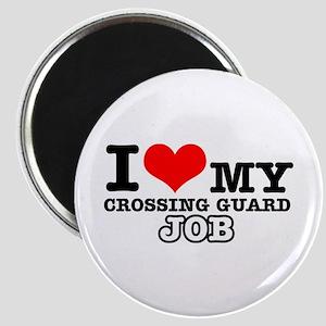 Crossing Guard Job Designs Magnet
