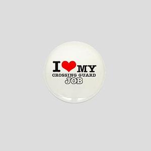 Crossing Guard Job Designs Mini Button