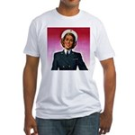 Navy Nurse Fitted T-Shirt