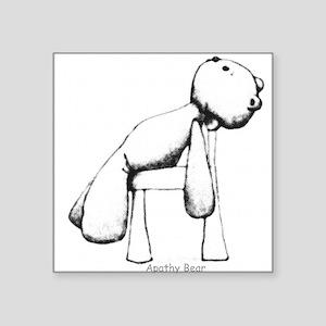 Apathy Bear Sticker