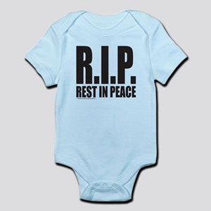 R.I.P. REST IN PEACE Infant Bodysuit