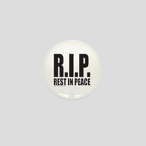 R.I.P. REST IN PEACE Mini Button