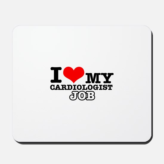 Cardiologist Job Designs Mousepad