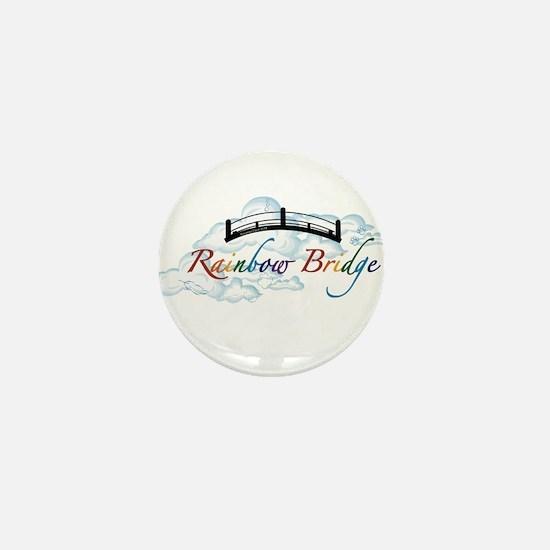 Cute Rainbow bridge Mini Button