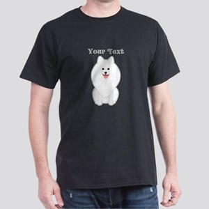 Cute Dog with Text. Spitz. T-Shirt