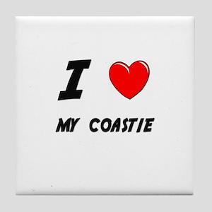 COAST GUARD Tile Coaster