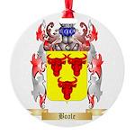 Boole Round Ornament