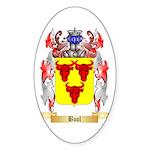 Bool Sticker (Oval 50 pk)