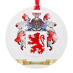 Bookman Round Ornament