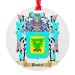 Booker Round Ornament