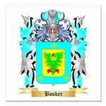 Booker Square Car Magnet 3