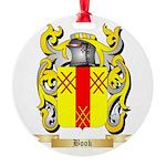 Book Round Ornament