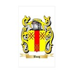 Boog Sticker (Rectangle 50 pk)