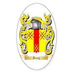 Boog Sticker (Oval 50 pk)