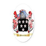 Bonville Oval Car Magnet