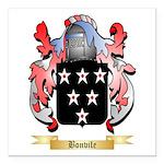 Bonvile Square Car Magnet 3