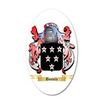 Bonvile 20x12 Oval Wall Decal