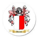 Bonutti Round Car Magnet