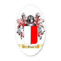Bonot Oval Car Magnet