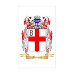 Bonomi Sticker (Rectangle 50 pk)