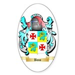 Bono 2 Sticker (Oval 10 pk)