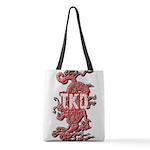 TKD Dragon Polyester Tote Bag