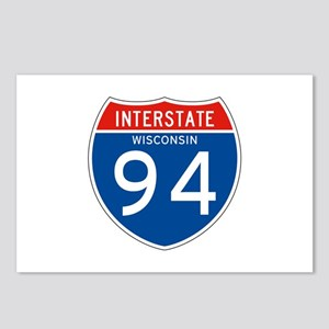 Interstate 94 - WI Postcards (Package of 8)