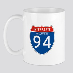 Interstate 94 - WI Mug