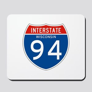 Interstate 94 - WI Mousepad