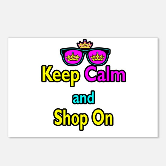 Crown Sunglasses Keep Calm And Shop On Postcards (