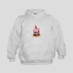 3rd Birthday cake/ Hoodie