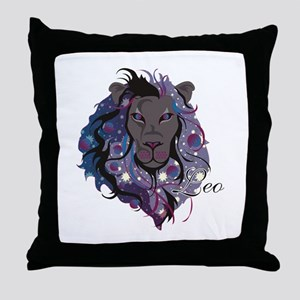 Starlight Leo Throw Pillow