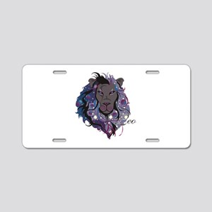Starlight Leo Aluminum License Plate