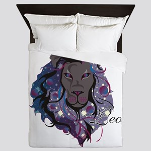 Starlight Leo Queen Duvet