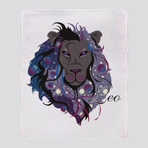 Starlight Leo Throw Blanket