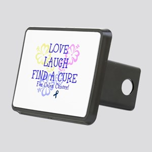 Love Laugh Cure Colon Hitch Cover