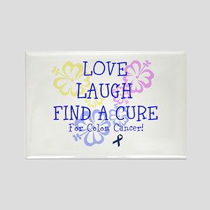 Love Laugh Cure Colon Rectangle Magnet