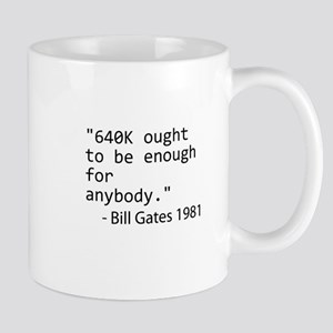 640K Bill Gates Small Mug