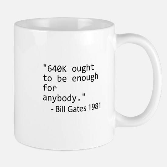 640K Bill Gates Small Mug