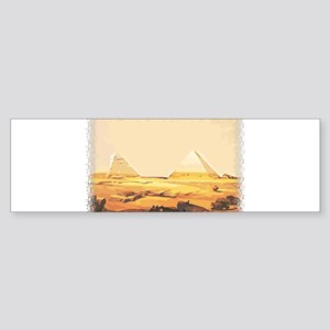 Pyramids at Giza Bumper Sticker