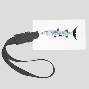 Great Barracuda fish Luggage Tag