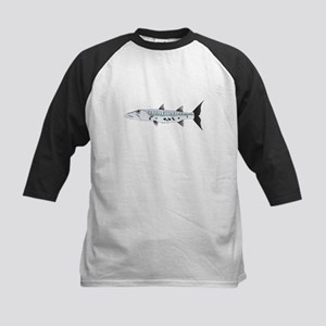 Great Barracuda fish Baseball Jersey