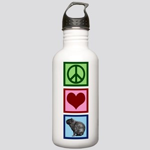 Peace Love Capybaras Stainless Water Bottle 1.0L